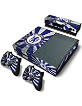 Golden Deal Xbox One Console And Wireless Controller Skin Set Soccer Sport Xbox One Vinyl
