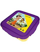 Chhota Bheem Super Lock & Seal Lunch Box Purple / Yellow