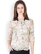 Ayaany Multi 3/4 th Sleeves Printed Shirts