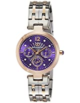 Gio Collection Analog Purple Dial Women's Watch - G2017-11