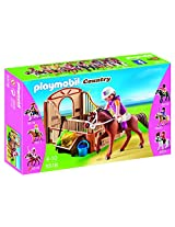 PLAYMOBIL Trekking Horse with Stall Play Set