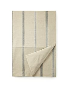 French Laundry Avalon Coverlet (Natural/Blue)