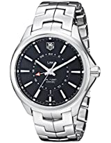 TAG Heuer Men's WAT201A.BA0951 Analog Display Swiss Automatic Silver Watch