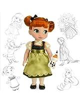 Disney Animators Collection Frozen Sister Barbie Doll 16 Inch (Style Nine)