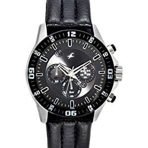 Fastrack Chrono Upgrade Analog Black Dial Men's Watch - ND3072SL03