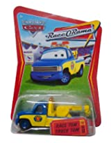 Disney Pixar Cars 1:55 scale (3 inch) RACE TOW TRUCK TOM #56 World of Cars RACE-O-RAMA series die ca
