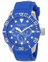 Nautica Unisex N13649G NSR 101 Multi- South Beach Classic Analog with Enamel Bezel Watch