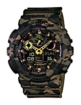 Casio G-Shock Analog-Digital Green Dial Men's Watch - GA-100CM-5ADR(G580)