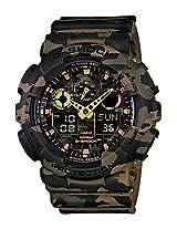 Casio G-Shock Analog-Digital Green Dial Men's Watch - GA-100CM-5ADR(G580)