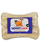 Sammy Chew Dog Natural Bone, Pack of 2