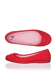 Chuches Kid's Moccasin Flat (Red)