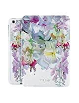 Official TED BAKER® SS16 iPad Mini 1 / 2 / 3 Case - Luxury Folio Case / Cover with Flower Print for Women for the Apple iPad Mini 3 with Stand - IREANNE - Hanging Gardens