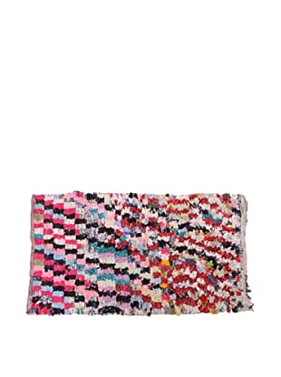 Moroccan Rag Rugs, Bright Beige Multi
