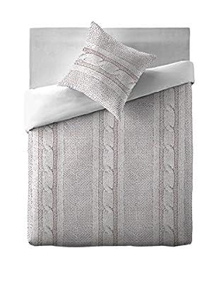 Naturals  Bettdecke und Kissenbezug Tricot Coord