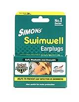 SIMON'S SWIMWELL EARPLUG 32 PAIRS