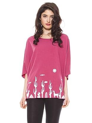 La Casita de Wendy Camiseta Cactus (Rosa)
