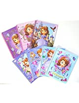 Disney Sofia The First 2 Assorted Spiral Notebooks 70 Wide Ruled Sheets