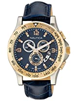 Nautica Sports Chronograph Navy Dial Men's Watch - NAI19502G