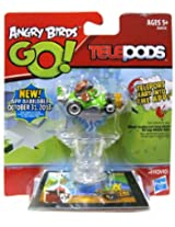 Angry Birds GO! Telepods Kart Green Pig with Aviator Cap