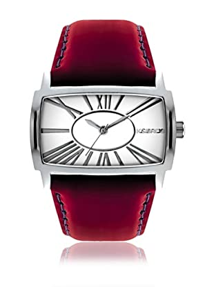 K&Bros  Reloj 9147 (Blanco / Rojo)