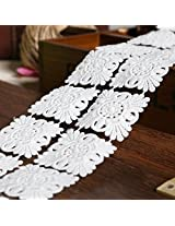 White Color Lace Cotton DIY Decoration Material Cord Lace Fabric