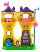 Fisher-Price Little People Disney Princess Rapunzels Flynn Figure Musical Tower