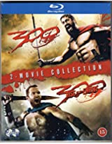 300/ 300 Rise of a Empire Blu Ray - 2 movie Collection (Imported, Region Free)