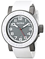 red line Men's RL-50051-GM-014-WAS Xlerator Analog Display Japanese Quartz White Watch