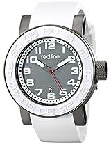 red line Men's RL-50051-GM-014-WAS Xlerator Analog Display Japanese Quartz White Watch
