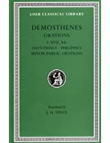 Olynthiacs I-III, Philippic I, On the Peace, Philippic II,Etc L238 V 1 (Trans. Vince)(Greek): 001 (Loeb Classical Library)