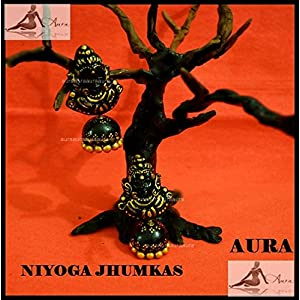 AUrA-EArTH Niyoga Jhumkas