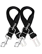 Vastar® Adjustable Pet Dog Cat Car Seat Belt Safety Leads Vehicle Seatbelt Harness, Made from Nylon Fabric