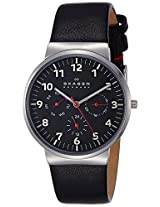 Skagen End of Season Ancher Analog Black Dial Men's Watch - SKW6096I