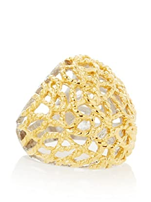 Chloe Collection By Liv Oliver Cutout Textured Ring