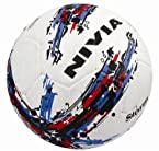 Nivia Storm Football, Size 5 (White)