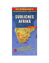Hildebrand's Travel Map: Southern Africa (Hildebrand's Africa / Indian Ocean Travel Map)