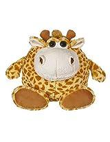 "Ganz Mini Eye Balls Stretch Giraffe 5"" Plush"