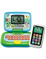 LeapFrog My Own Leaptop and Chat and Count SmartPhone Bundle - Boy (Green)