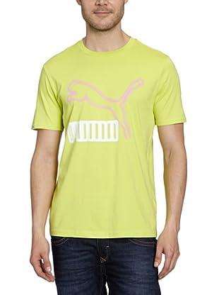 Puma T-Shirt Vintage No.1 Logo (wild lime)