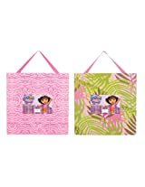 Trend Lab Nickelodeon Dora The Explorer Frame Set, Exploring The Wild (Discontinued by Manufacturer)