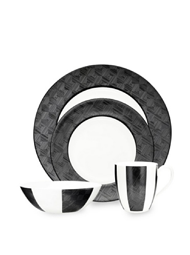 Noritake Everyday Elegance Zinc2 20-Piece Set (White/Black)