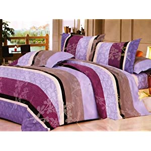 Homefab India Everey Day Double Bed-Sheet with 2 Pillow Covers