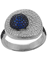 Define Jewellery Silver ring for Women (DFLR0121)