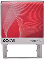 Colop Printer 10 Self Ink Stamp In Blue Pad With 4 Changeable Casings