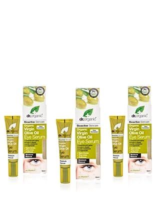 Dr.Organic Set 3 Suero Suero Contorno de Ojos de Aceite de Oliva 15Ml (u)