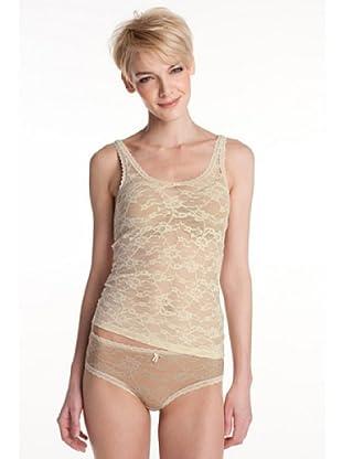 Esprit Bodywear Damen Unterhemd F2837/Luxury Lace (Elfenbein (HV = Creme))