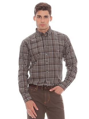 Gant Camisa Cuadros (marrón)