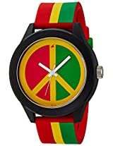 Fastrack Tees  Analog Multi-Color Dial  Unisex Watch - 38003PP02