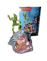 SPIDERMAN vs GREEN GOBLIN statue diorama by NECA