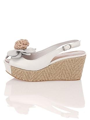 Apepazza Keil-Sandalette Sissy (Weiß)